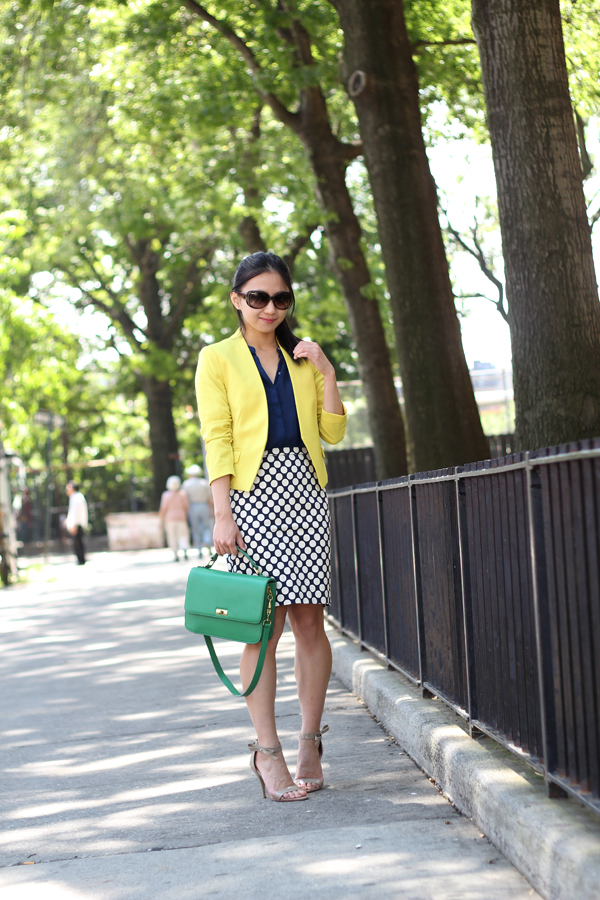 J. Crew No. 2 Pencil Skirt in Pop Art Polka Dot ( and other J. Crew Polka Dots)