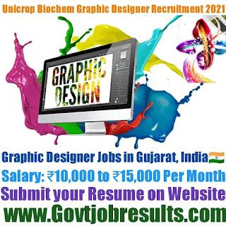 Unicrop Biochem Graphic Designer Recruitment 2021-22