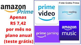 Amazon Prime Vale a Pena em 2020 Como é o Amazon Prime (vídeo, music, gaming, reading, ofertas, frete grátis - entrega prime) Como funciona Qual o Preço Como comprar