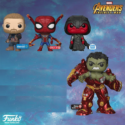 New Avengers: Infinity War Retailer Exclusive Pop! Vinyl Figures by Funko x Marvel
