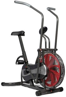 SportPlus SP-FB-1000: Bicicleta estática con resistencia de aire y cinturón de freno
