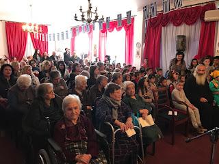 Ο Εορτασμός της 25ης Μαρτίου στο Εκκλησιαστικό Γηροκομείο