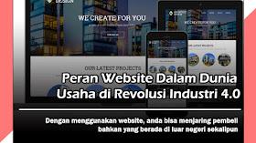 Peran Website Dalam Dunia Usaha di Revolusi Industri 4.0