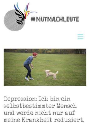 Mutmachleute Depression psychische Krankheit Aufklärung Entstigmatisierung Projekt Betroffene Alltag