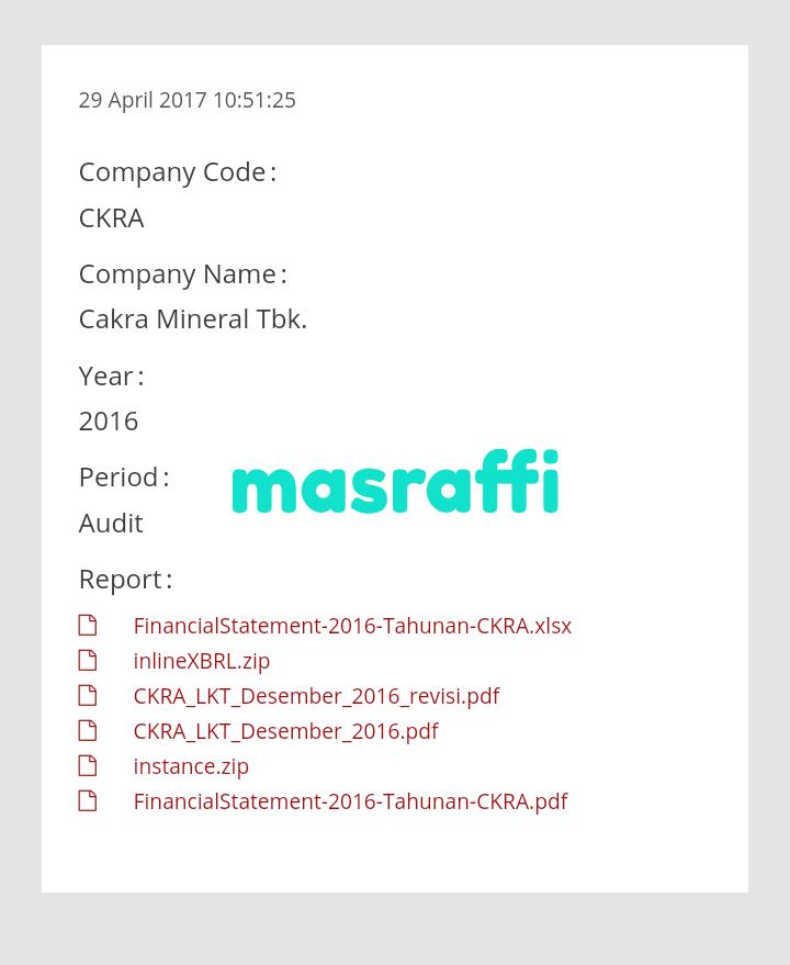 Cara Download Laporan Keuangan Di Idx Tahun 2014 Dan 2015 Mas Raffi