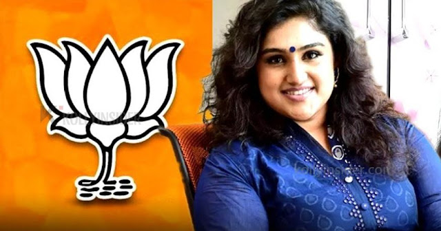 Vanitha Vijayakumar to join BJP