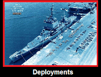 USS Long Beach Deployments