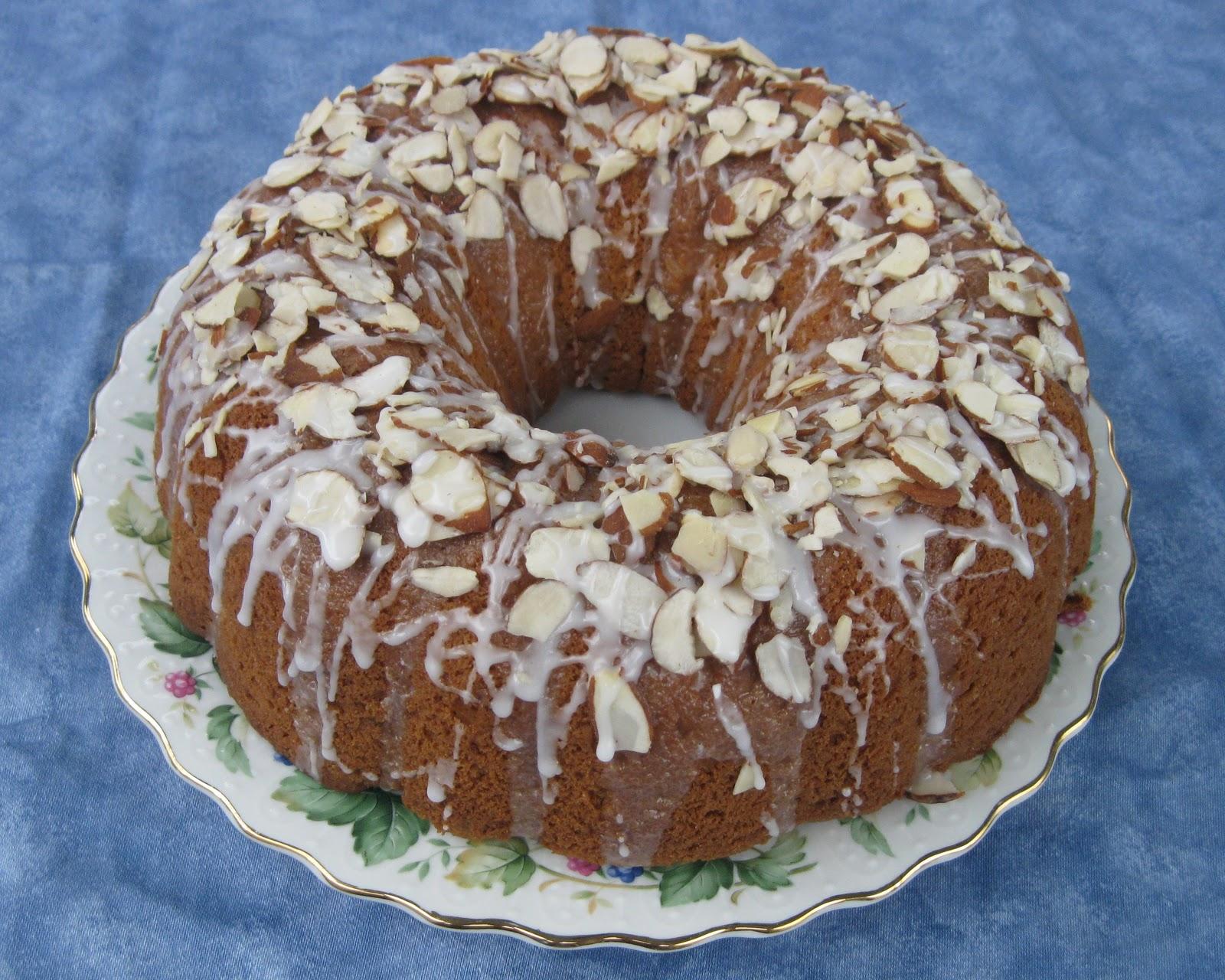 Marys Apple Almond Cake