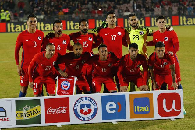 Formación de Chile ante Burkina Faso, amistoso disputado el 2 de junio de 2017