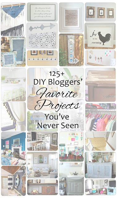 125 of the projects that bloggers have always wanted you to see.  The projects they are most proud of in 2016.. but you probably missed it!