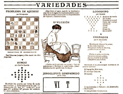 Página de Ángel Novejarque en Nuevo Mundo, 6/4/1909