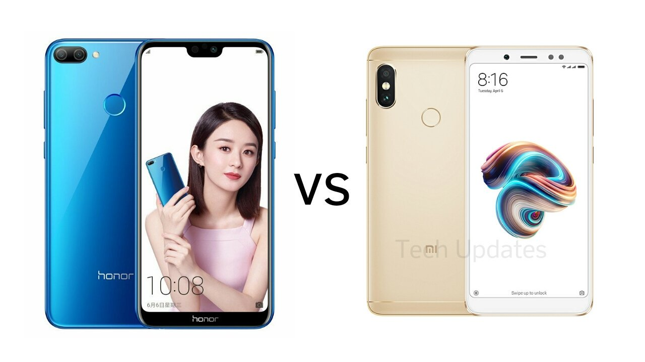 Honor 9N vs Xiaomi Redmi Note 5 Pro - Tech Updates
