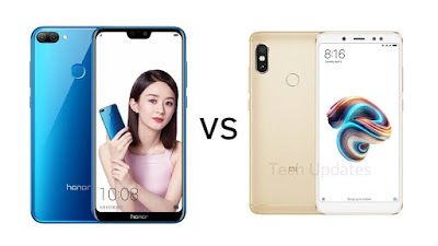 Honor 9N vs Xiaomi Redmi Note 5 Pro