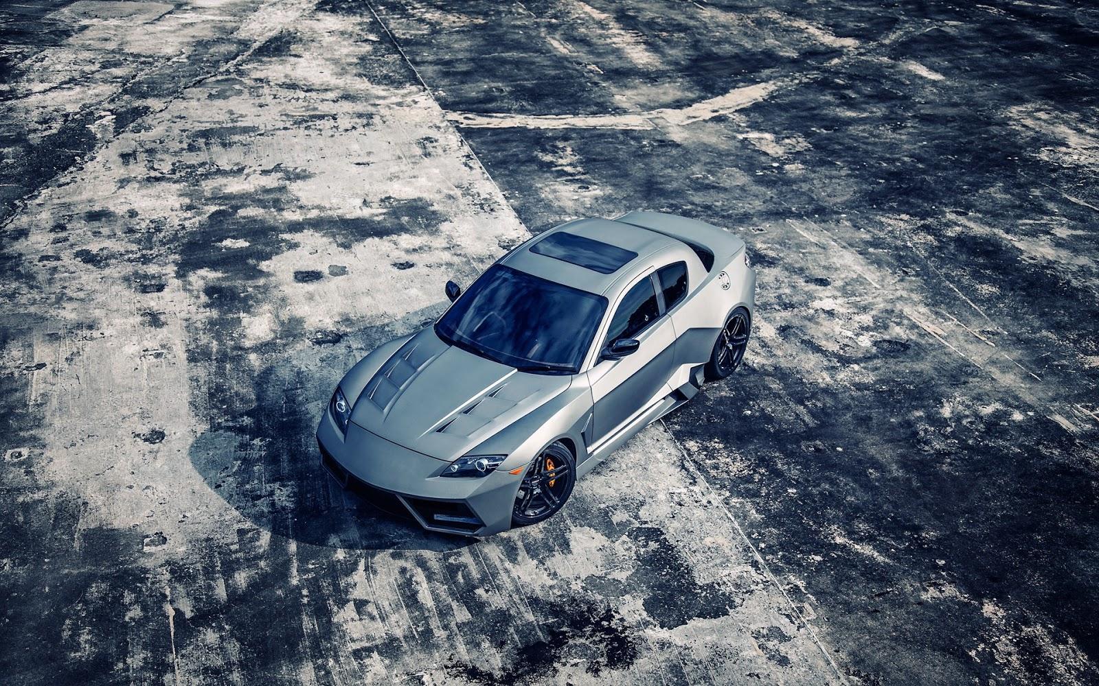 Imagenes De Autos En Hd Para Fondo De Escritorio: Mazda Rx8 Knight Sports