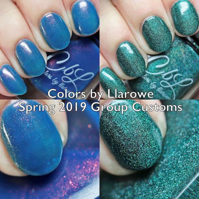 Colors by Llarowe Spring 2019 Group Customs