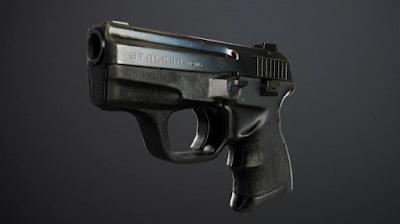 3д модель пистолета