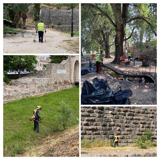 Ναύπλιο: Επιχείρηση καθαριότητας στην ιστορική Πύλη Της Ξηράς