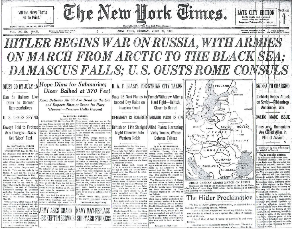 The particular Attack involving the actual Soviet Sybiosis