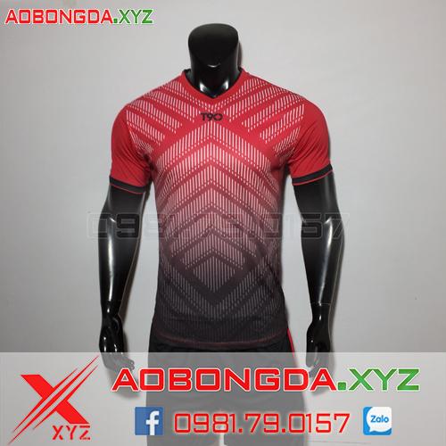 Áo Không Logo Mã XYZ-12 2020 Màu Đỏ Đen