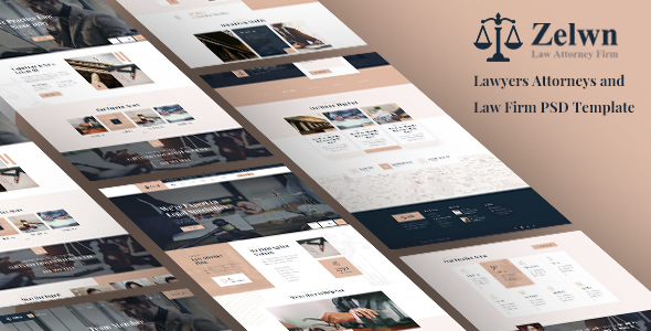 Lawyer Attorney Template