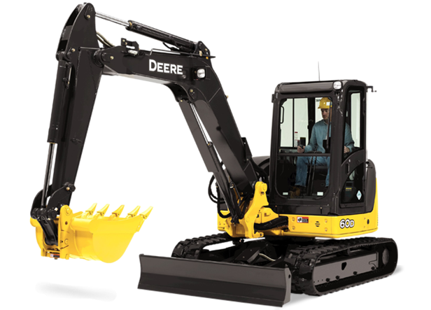 john deere excavators 60d - alat berat