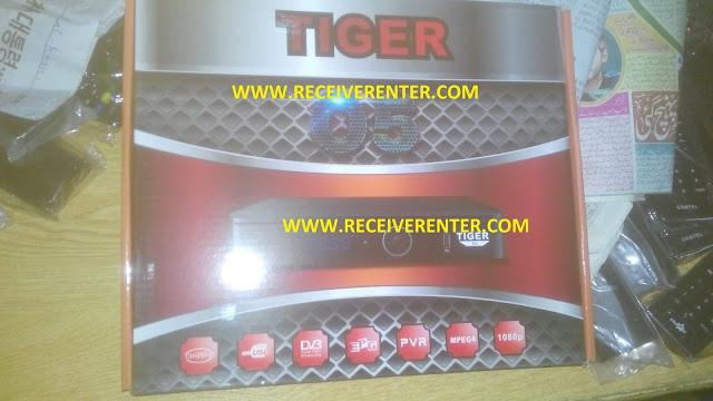 TIGER O5 CCCAM OPTION AND POWERVU TANDBERG SOFTWARE