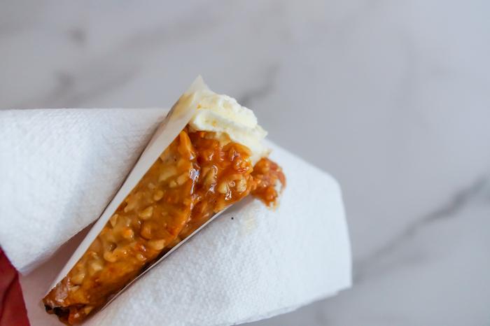 Sweet on Trader Joe's Sunday: Mini Cheesecake Cones review