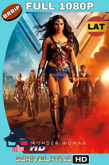 La Mujer Maravilla (2017) BRRip 1080p Latino-Ingles MKV