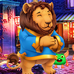 Play Games4King - G4K Lowly Lion Escape Game