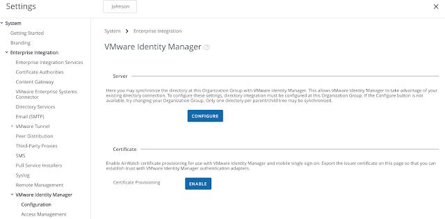 certificate gooder even airwatch provisioning