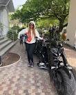 Tacha seen riding with Donald Duke on his batman power bike In Calabar (Video)