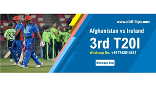Who will win Today International 3rd match IRE vs AFG T20 2020?