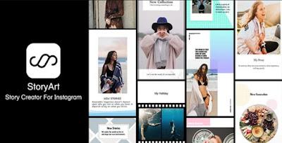 aplikasi edit instagram story art