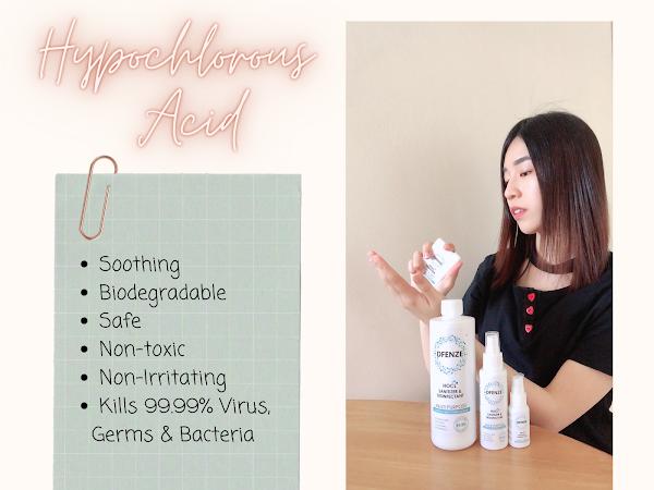 Dfenze HOCL Sanitizer & Disinfectant