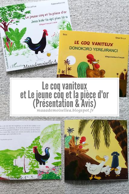 || Le coq vaniteux et Le jeune coq et la pièce d'or (Présentation & Avis)(Chut, les enfants lisent # 108)