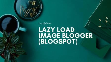 lazy load image blogger