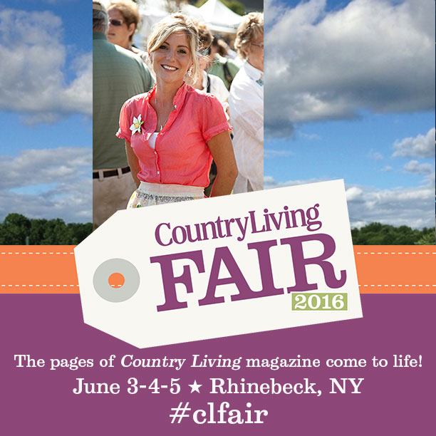 Country Living Fair Ticket Giveaway! www.homeroad.net