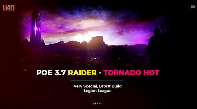 POE 3 7 Raider Special Build - Tornado Shot Guide, 2019