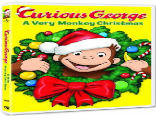 Best Christmas movies to watch with your kid- 23. Curious George: A Very Monkey Christmas (2009)