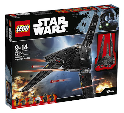 LEGO Star Wars Rogue One Building Sets Krennic's Imperial Shuttle