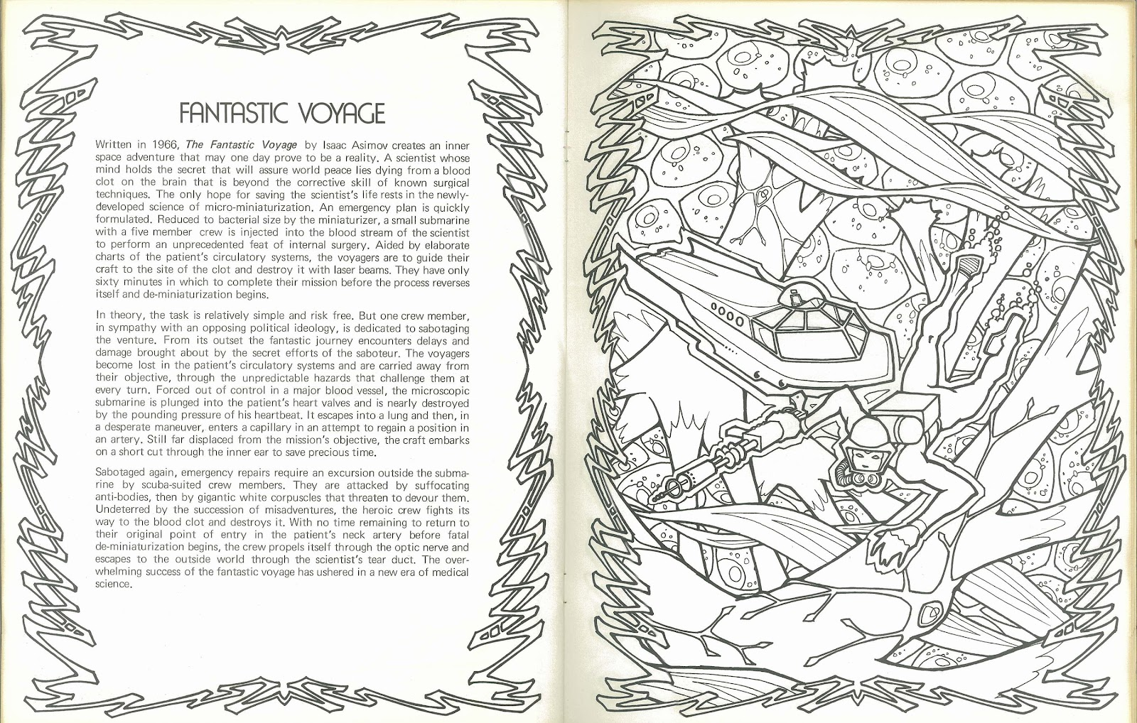 Science Fiction Anthology Coloring Book   Coloring Pages