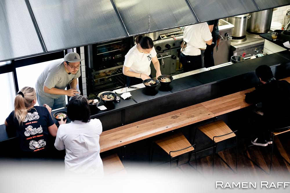 Ramen raff rising sun workshop newtown ramen coffee for Table 9 newtown