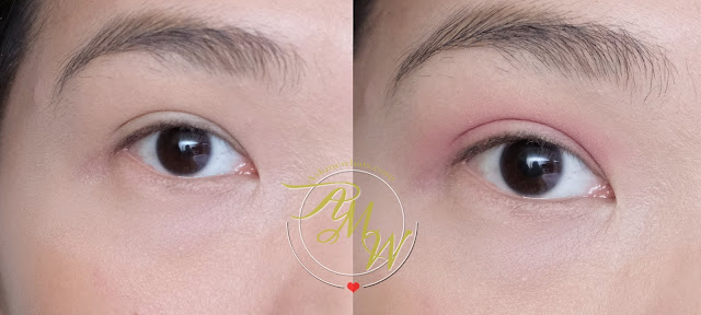 a before and after photo of Generation Happy Skin Easy Eyes review in FRESH by Nikki Tiu of askmewhats.com