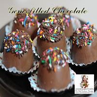 viaindiankitchen - Gems filled Cholocate