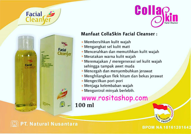 collaskin facial cleanser rositahop
