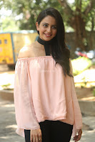 Rakul Preet Singh in lovely Pink Crop Top and Black Trousers at Jaya Janaki Nayaka success meet 068.JPG