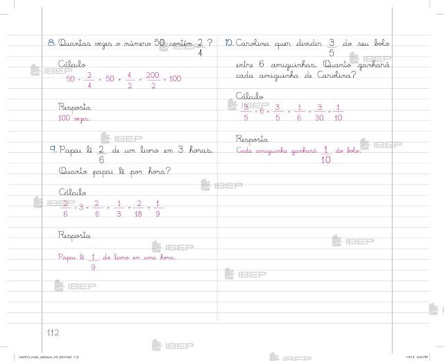 Caderno Do Futuro 5o Ano Matemática Para Baixar