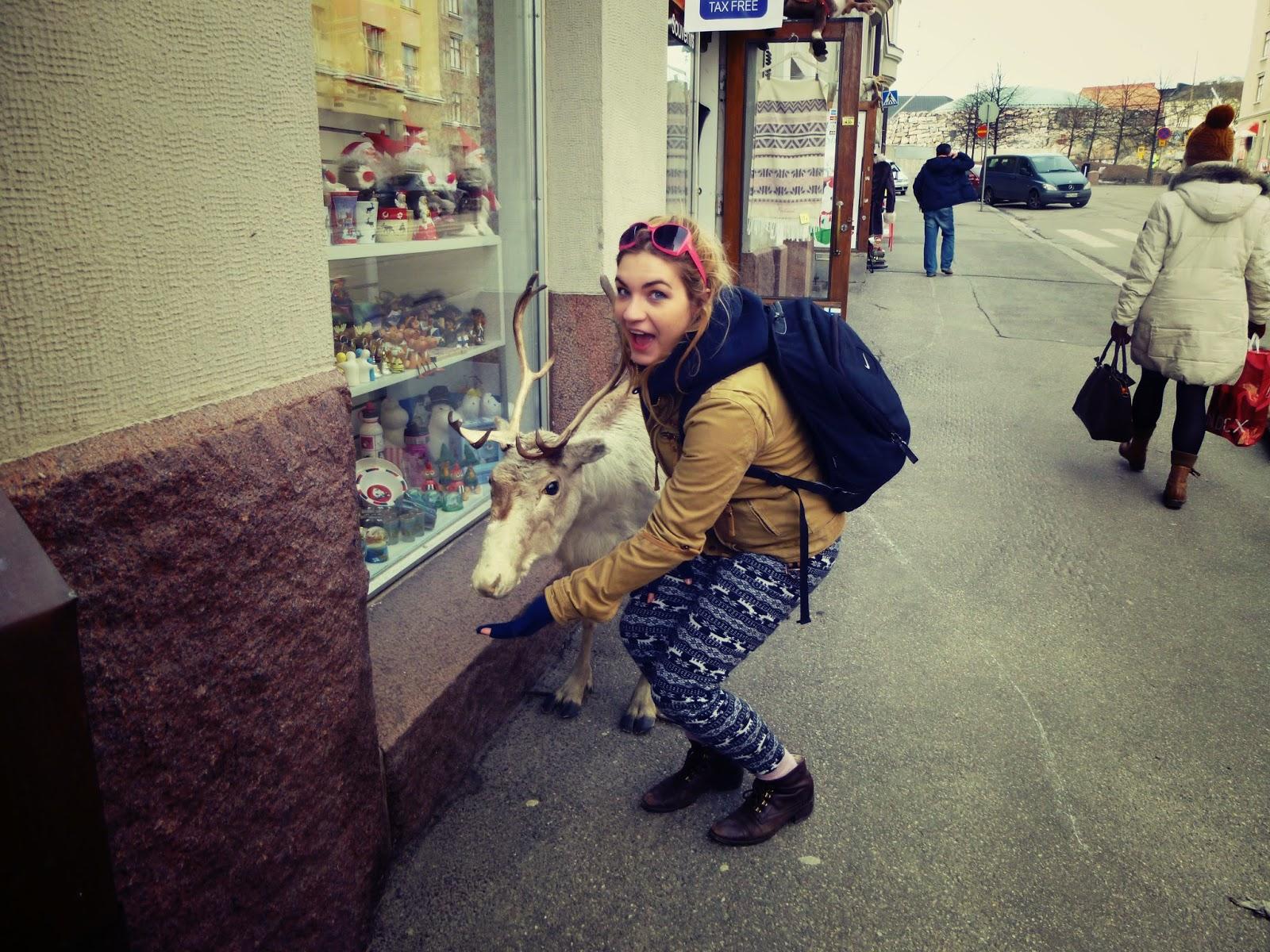 reindeer helsinki