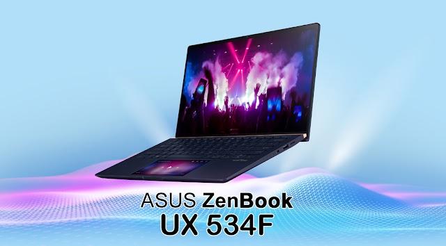 ASUS ZenBook UX534 ScreenPad 2.0