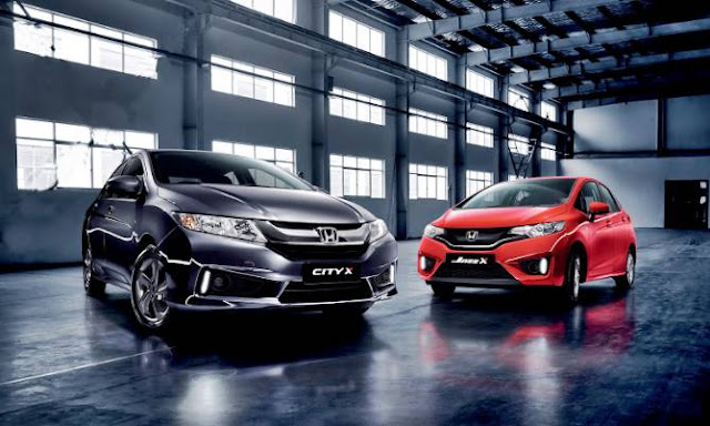 Honda Jazz X Limited edition and Honda City X Limited Edition Specs Price Release date Malaysia